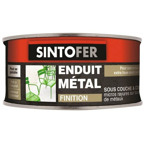 Enduit métal de finition Sintofer