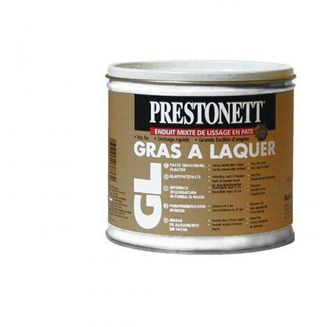Enduit mixte de finition en pâte GL® gras à laquer seau de 1 kg