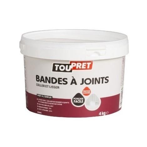 Enduit pate pour joint plaque de platre bg pot 4 kg