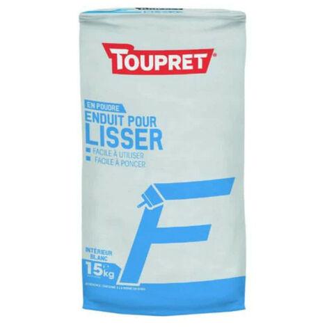 Enduit Pour Lisser F Poudre 15kg - TOUPRET