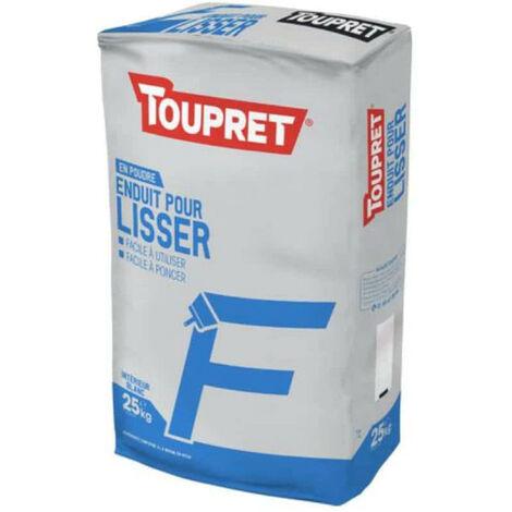 Enduit Pour Lisser F Poudre 25kg - TOUPRET