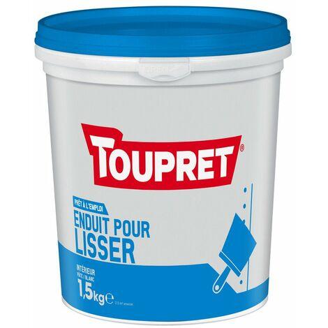 Enduit Pour Lisser Pate Pot 1.5kg - TOUPRET