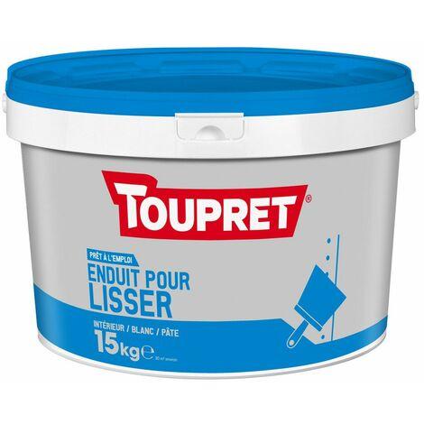 Enduit Pour Lisser Pate Seau 15kg - TOUPRET
