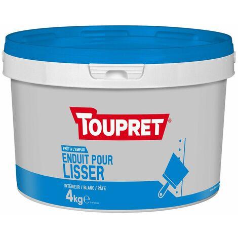 Enduit Pour Lisser Pate Seau 4kg - TOUPRET