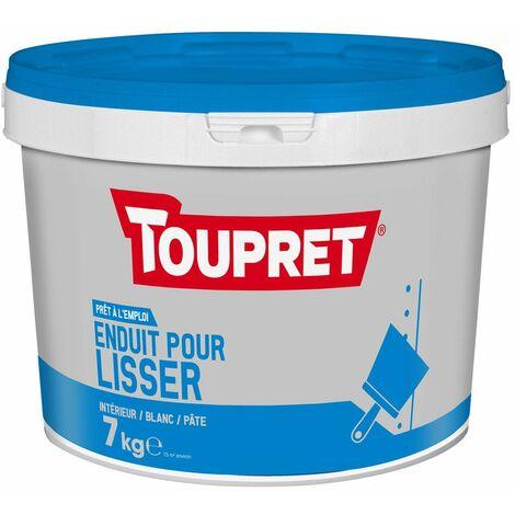 Enduit Pour Lisser Pate Seau 7kg - TOUPRET