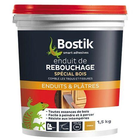 ENDUIT REBOUCHAGE BOIS PATE 1.5KG BOST (Vendu par 1)