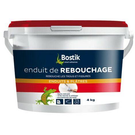 ENDUIT REBOUCHAGE PATE 4KG BOSTIK