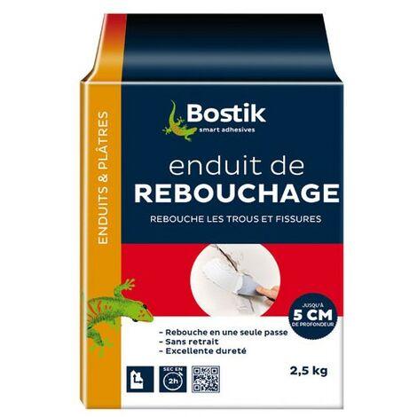 ENDUIT REBOUCHAGE POUDRE 2.5KG BOSTIK
