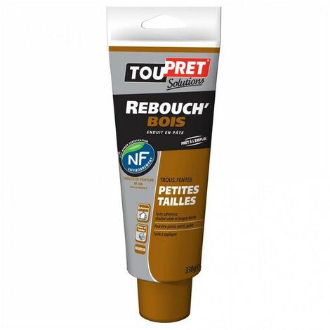 Enduit Rebouch'Bois en pâte - marron - 330g TOUPRET
