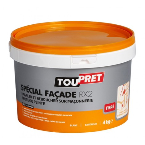 Enduit Toupret spécial façade RX2 pâte 4kg