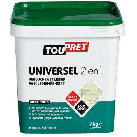 ENDUIT UNIVERSEL 2EN1 PATE 7KG GSB