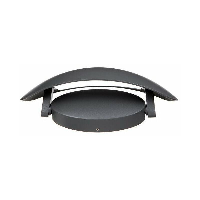 Endura style cover ovale applique extérieure watt finition gris
