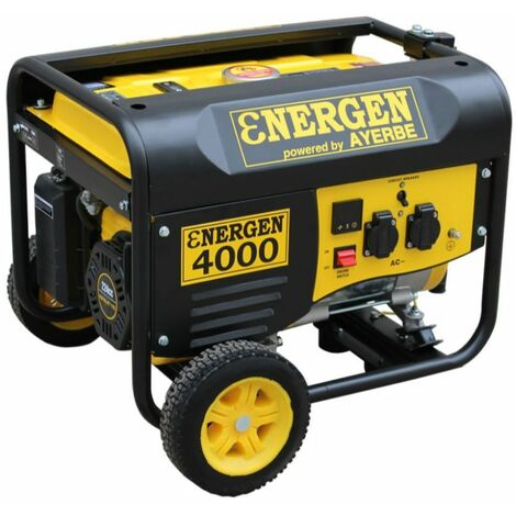 energen 4000 Grupo Electrogeno 3,5 Kva Energen Trifasico 3000 r.p.m