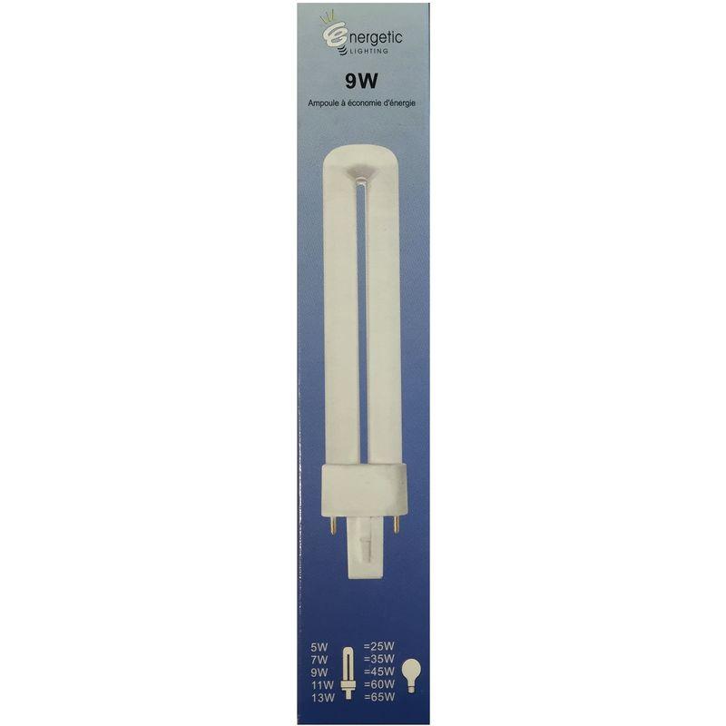 Energetic Lighting YDN9-T G23 Bombilla 9W 525lm L = 165 mm - Ahorro de energ