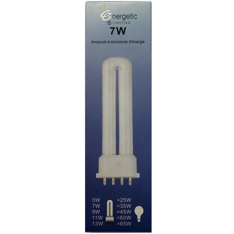 Energetic Lighting YDW7-U bulb 2G7 7W 350lm L=120mm - energy saving - long life