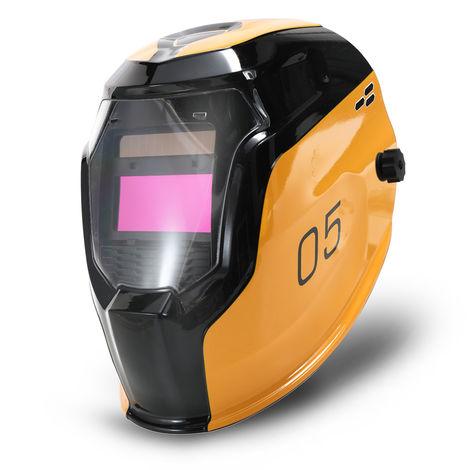 Energia solar automatico que cambia la luz mascara de soldadura autogena Cap Casco con 2pcs Arco Sensores