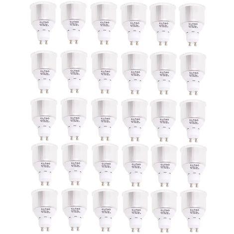 Energiesparlampen 10 3er Sets mit 300 lm GU10