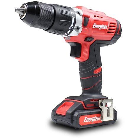 Energizer - 18v Cordless Hammer-Drill - Electric Power Tool - EZPP18V2B2AUK