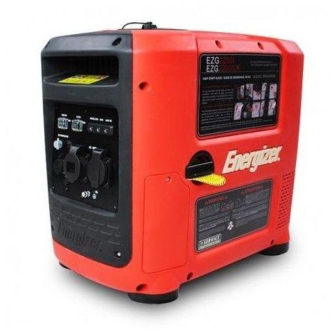 ENERGIZER 2200 W Groupe électrogène Essence inverter EZG2200I