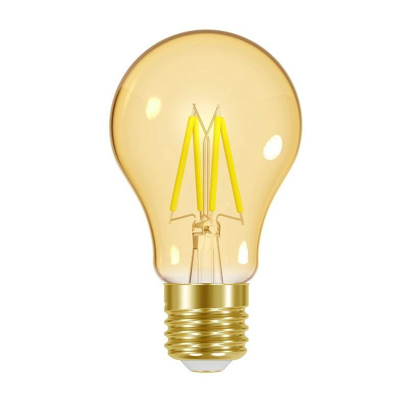 Image of 4.2W E27 GLS Filament LED Bulb ES Energy Saver Antique Vintage Gold - Energizer
