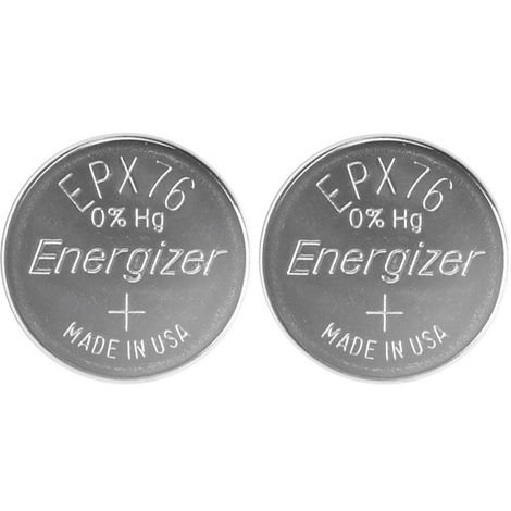 Energizer 635996 Size SR44 Silver Oxide Button Cell (Pack of 2)