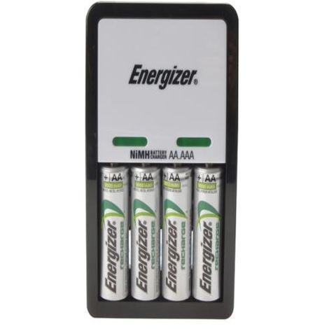 Energizer Compact Charger + 4 x AA 2000 mAh B