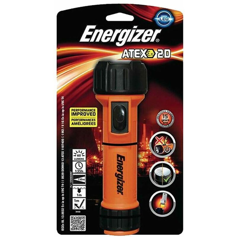 Image of DIY & Professional Ranges LED, ATEX 2D Industrial Torch - Energizer