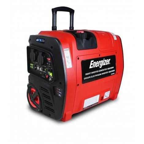 ENERGIZER EZG2001I Groupe électrogène Inverter 2100 W démarrage électrique et Wifi