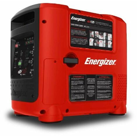 ENERGIZER Groupe électrogène essence Inverter 2800 W 2600 W - démarrage électrique et avec lanceur EZG2800I