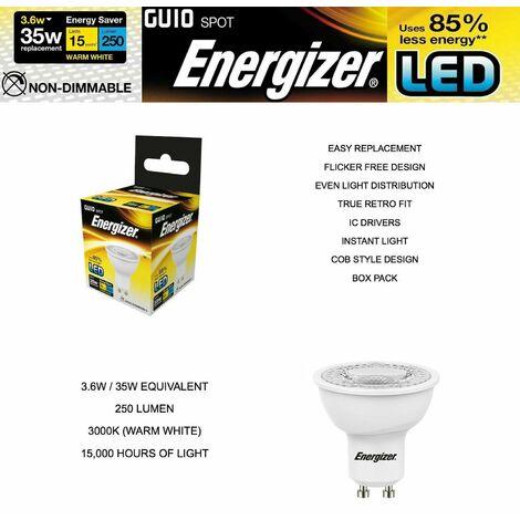 Energizer GU10 4 W, 1 LED GU10 Bulb