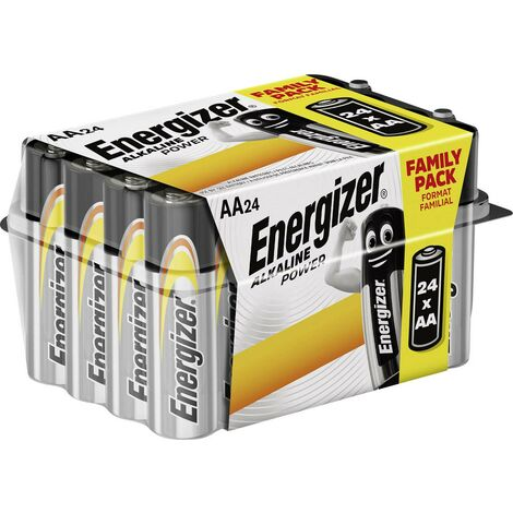 Energizer Micro (AAA)-Batterie Alkali-Mangan Power LR03 1.5V 24St. W724651