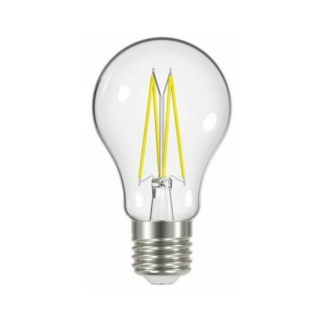 Energizer S12863 LED ES (E27) GLS Filament Non-Dimmable Bulb, Warm White 470 lm 4.3W