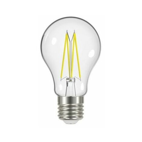Energizer S12865 LED ES (E27) GLS Filament Non-Dimmable Bulb, Warm White 806 lm 6.2W
