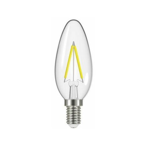 Energizer S12869 LED SES (E14) Candle Filament Non-Dimmable Bulb, Warm White 470 lm 4W