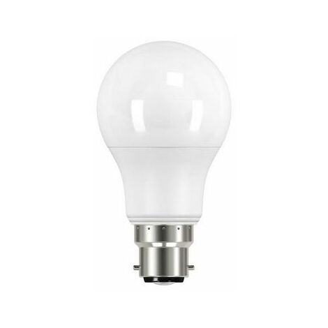 Energizer S8862 LED BC (B22) Opal GLS Non-Dimmable Bulb, Warm White 806 lm 9.2W