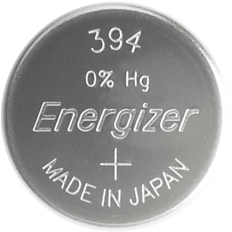 Energizer Silberoxid Knopfzelle, SR45/394/380, 1,55 V, 60 mAh