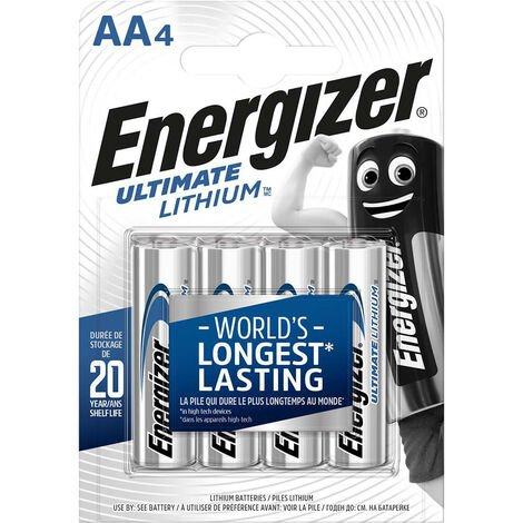 Energizer Ultimate Pilas de Litio - Pack de 10 unidades