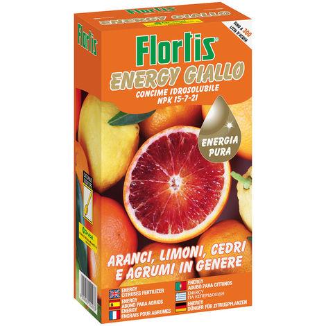 ENERGYΠGIALLO - Concime CE, per agrumi in genere - 600 g