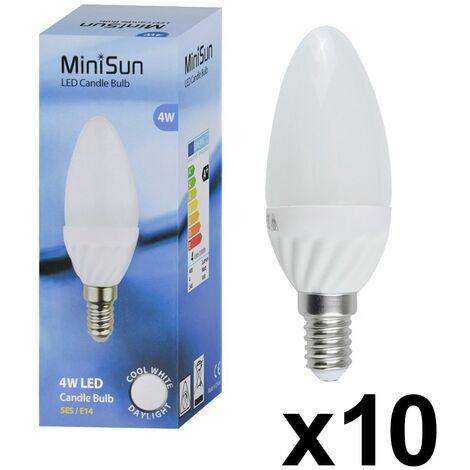 Energy Saving LED Candle Light Bulb Lamp Ses Es B22 Lightbulb Lamp A+