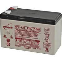 EnerSys Genesis NP7-12-WT Batteria al piombo 12 V 7 Ah Piombo-AGM (L x A x P) 151 x 100 x 65 mm Spina piatta 6,35 mm