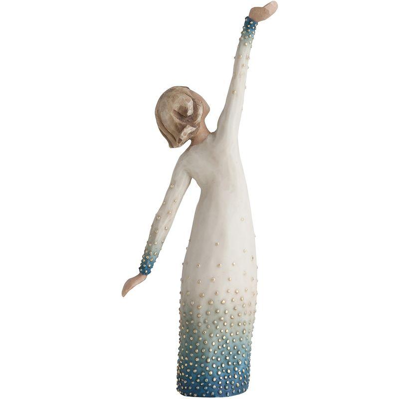 Resina Enesco 27367 Figurina Solare Design di Susan Lordi