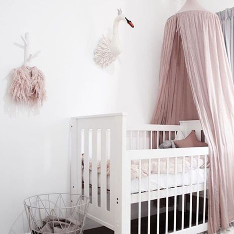 Enfants Bébé Couvre-Lit Lit À Baldaquin Moustiquaire Tente Coton Rideau Literie Dôme