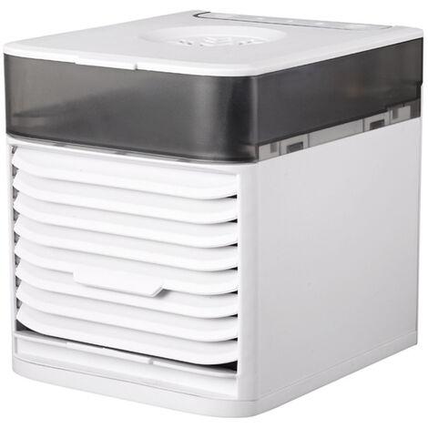 Enfriador de aire portatil KKmoon, mini aire acondicionado, humidificador enfriador de aire, con sistema de esterilizacion UV
