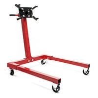 Engine stand engine mounting support 570 kg rotaiting mounting plate