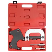 Engine Timing Tools, Tool Kit for Renault, with Red case, 4 Parts