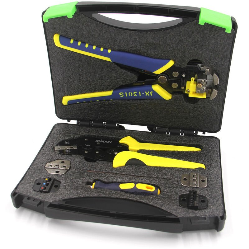 Image of Engineering Ratcheting Terminal Crimping Pliers