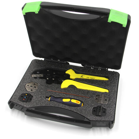 """main image of """"Engineering Ratcheting Terminal Crimping Pliers"""""""