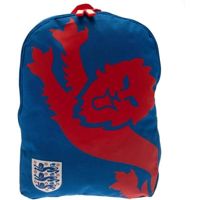 Image of England FA Lion Backpack (One Size) (Blue/Red)