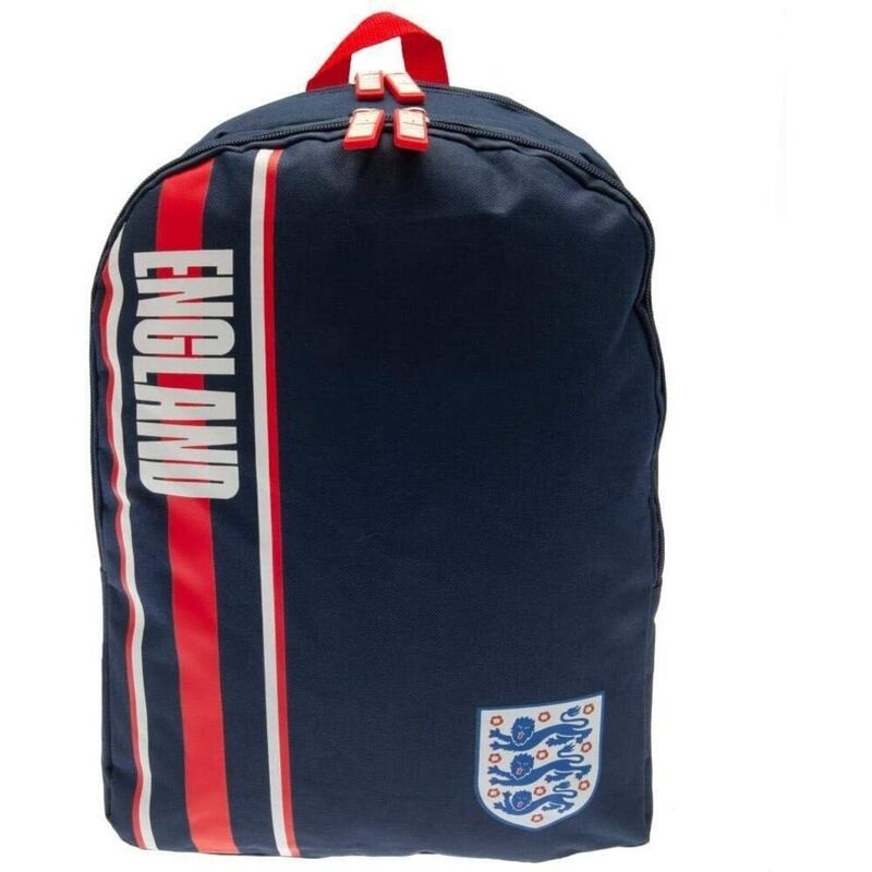 Image of England FA Stripe Backpack (One Size) (Navy/Red/White)