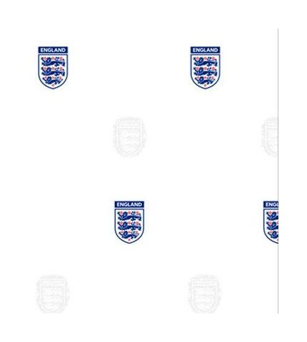 Image of England Football Wallpaper Official Fan Kids Three Lions White Blue Red